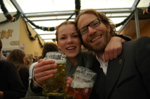 Munich -  Oktoberfest  Prost!