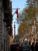 """Weiterer Blick auf das """"Monument a Cristofol Colom"""""""