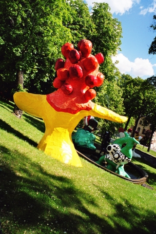 Stockholm - Niki de Saint Phalle