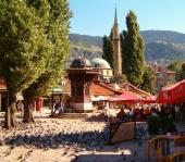 Bas Carsia, die Altstadt von Sarajevo