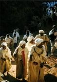 Gläubige in Lalibela