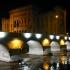 Brücke über dem Fluss Miljacka