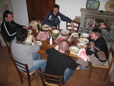 Männerurlaub in der Toskana