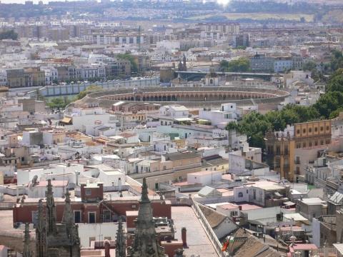 Sevilla - blick auf sevilla