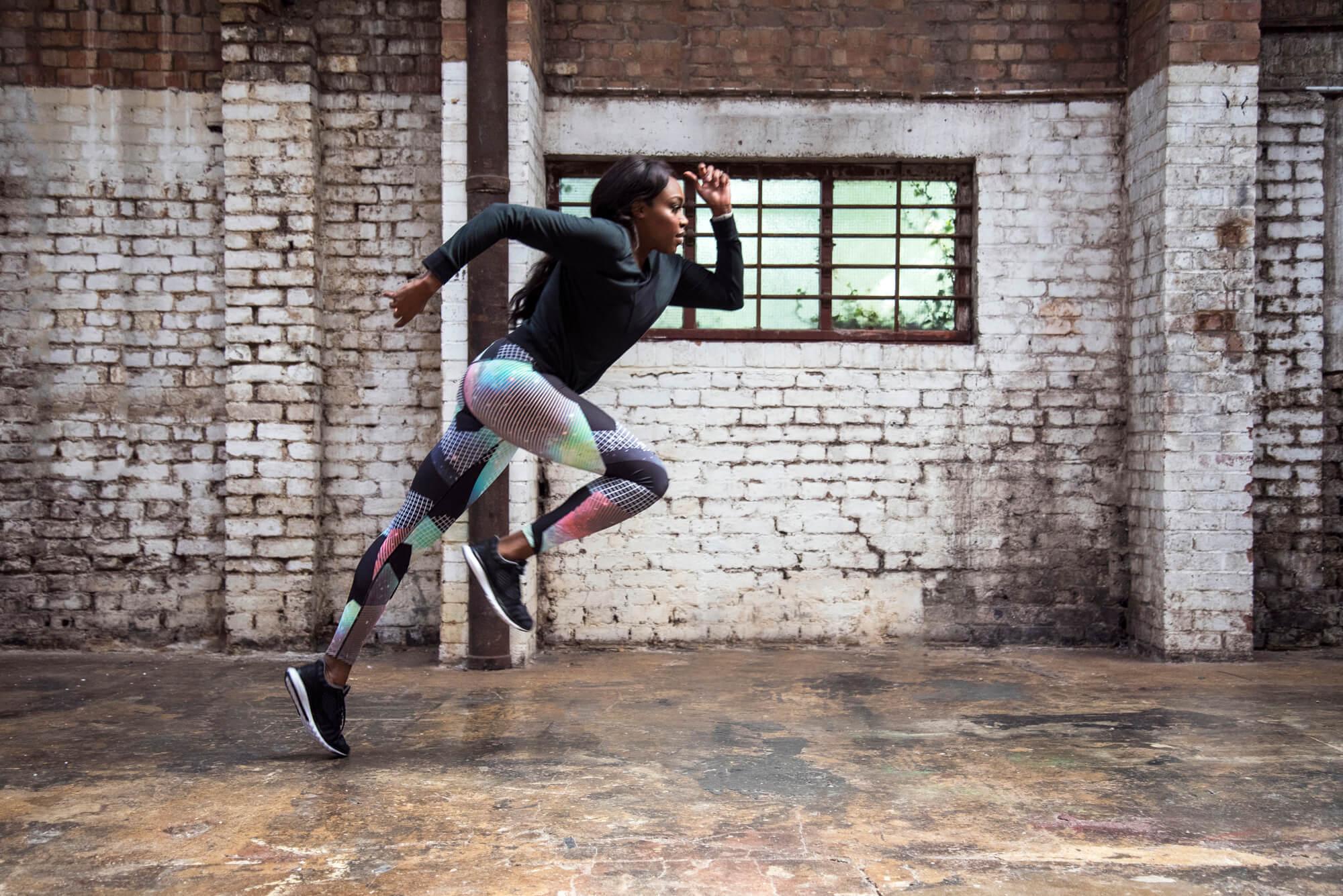 Tashi Skervin-Clarke training in studio
