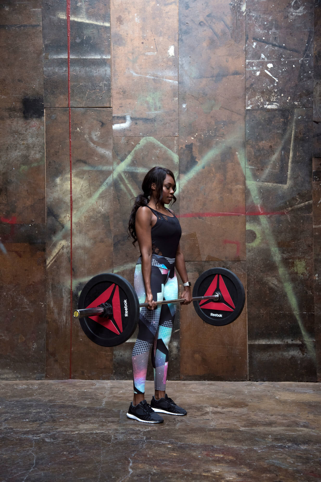 Tashi Skervin-Clarke weight training for Royal Parks Half Marathon