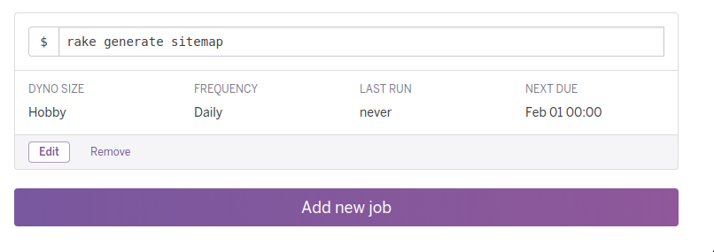 how to create an automatic sitemap for your rails app on heroku