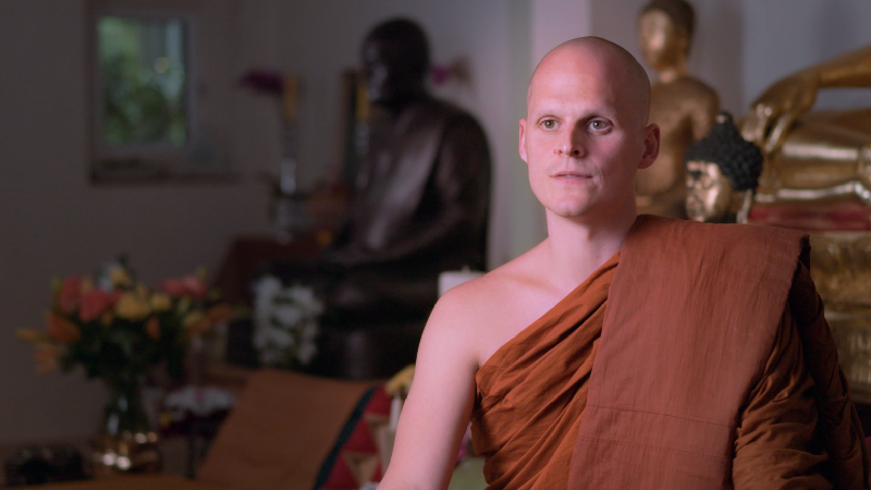 A Day in the Life of a Buddhist Monk