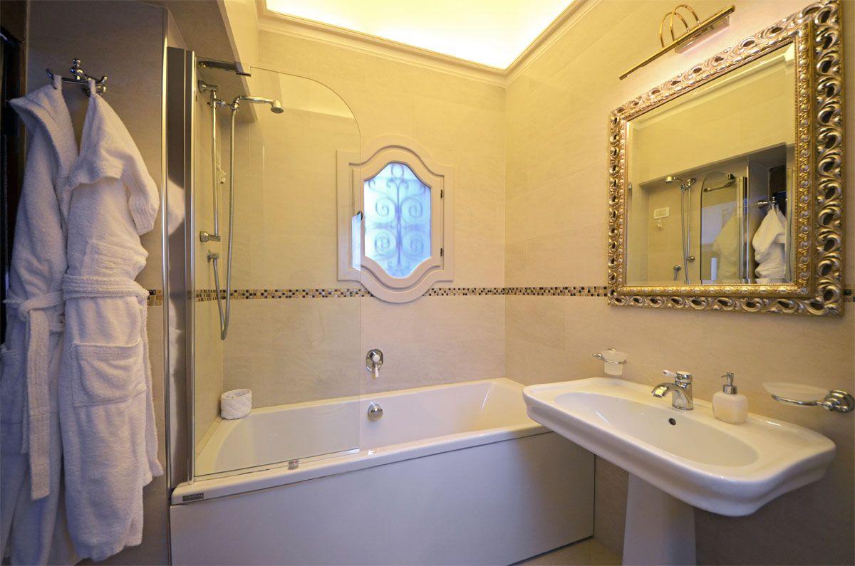 ensuite bathroom of the master bedroom