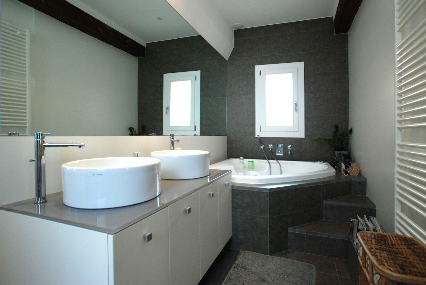 an exclusive en-suite bathroom with whirlpool