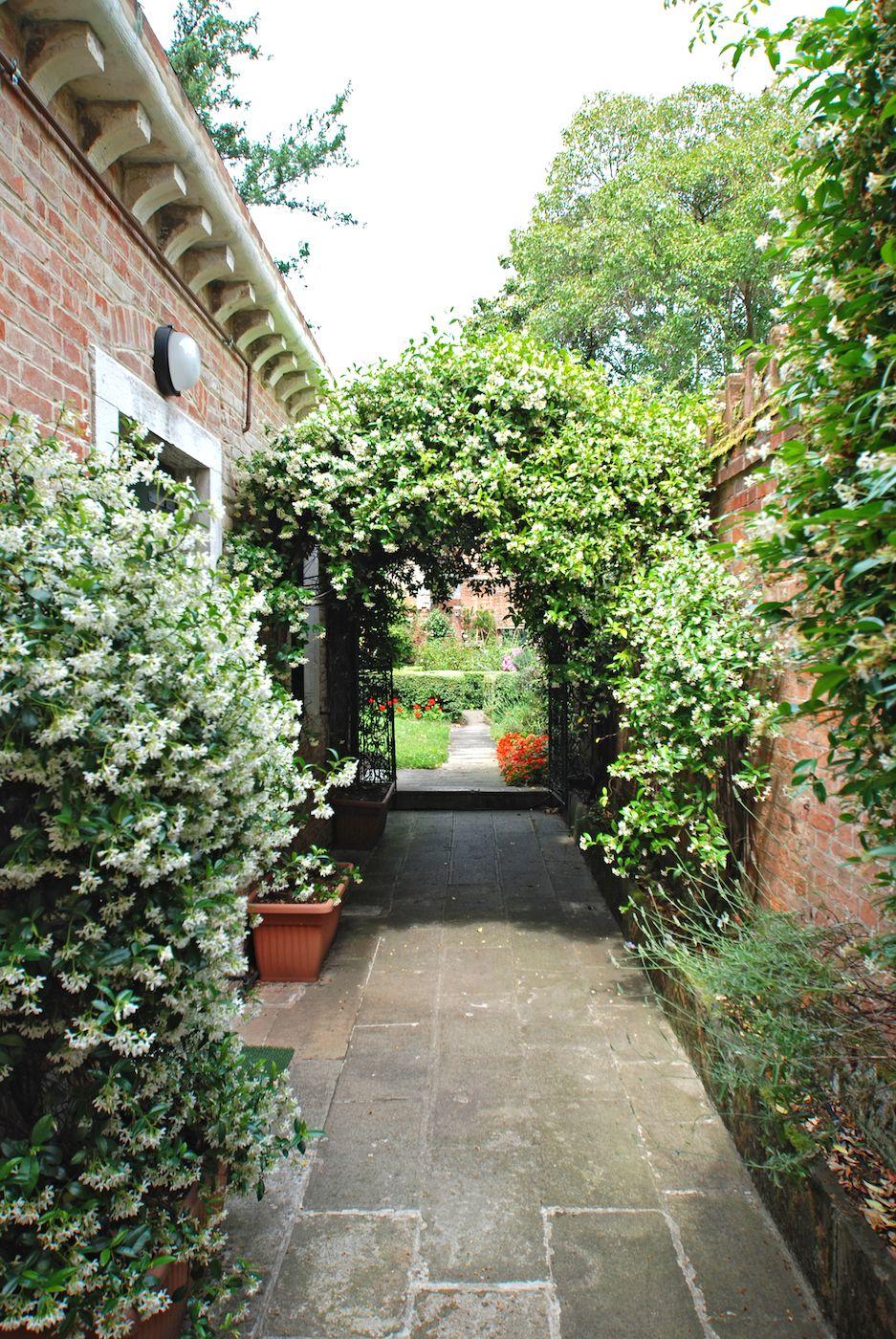 access the Dolfin apartment through the jasmine