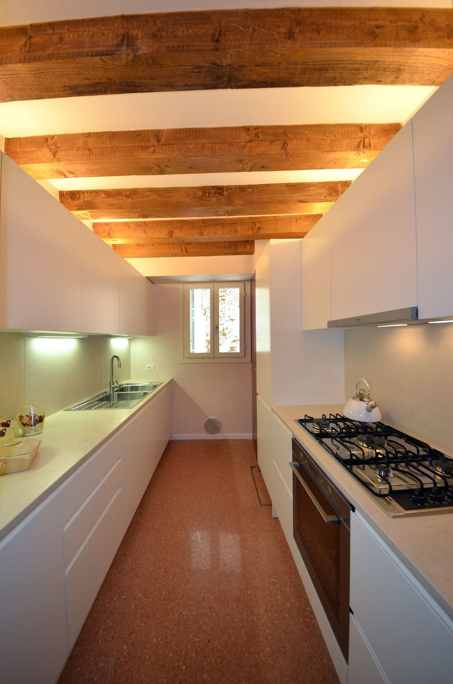 well equipped brand new kitchen of the Palladio apartment