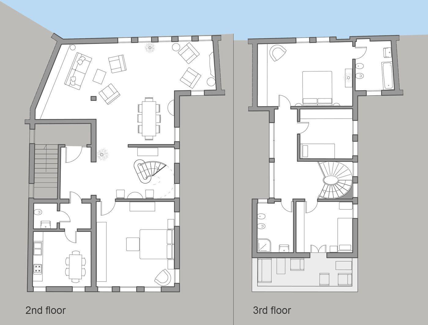 Angelo Gabriele floor plan
