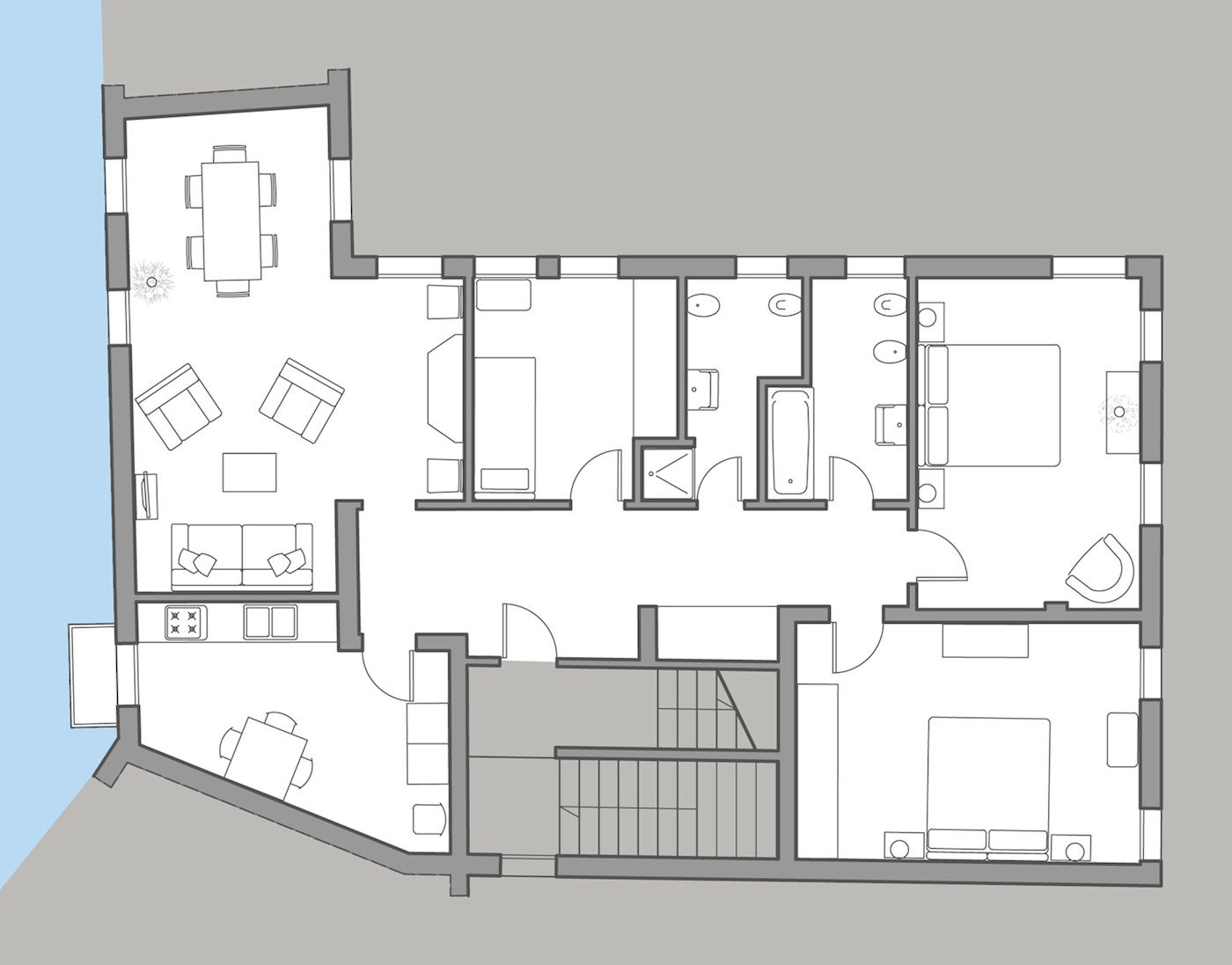 Angelo Raffaele floor plan