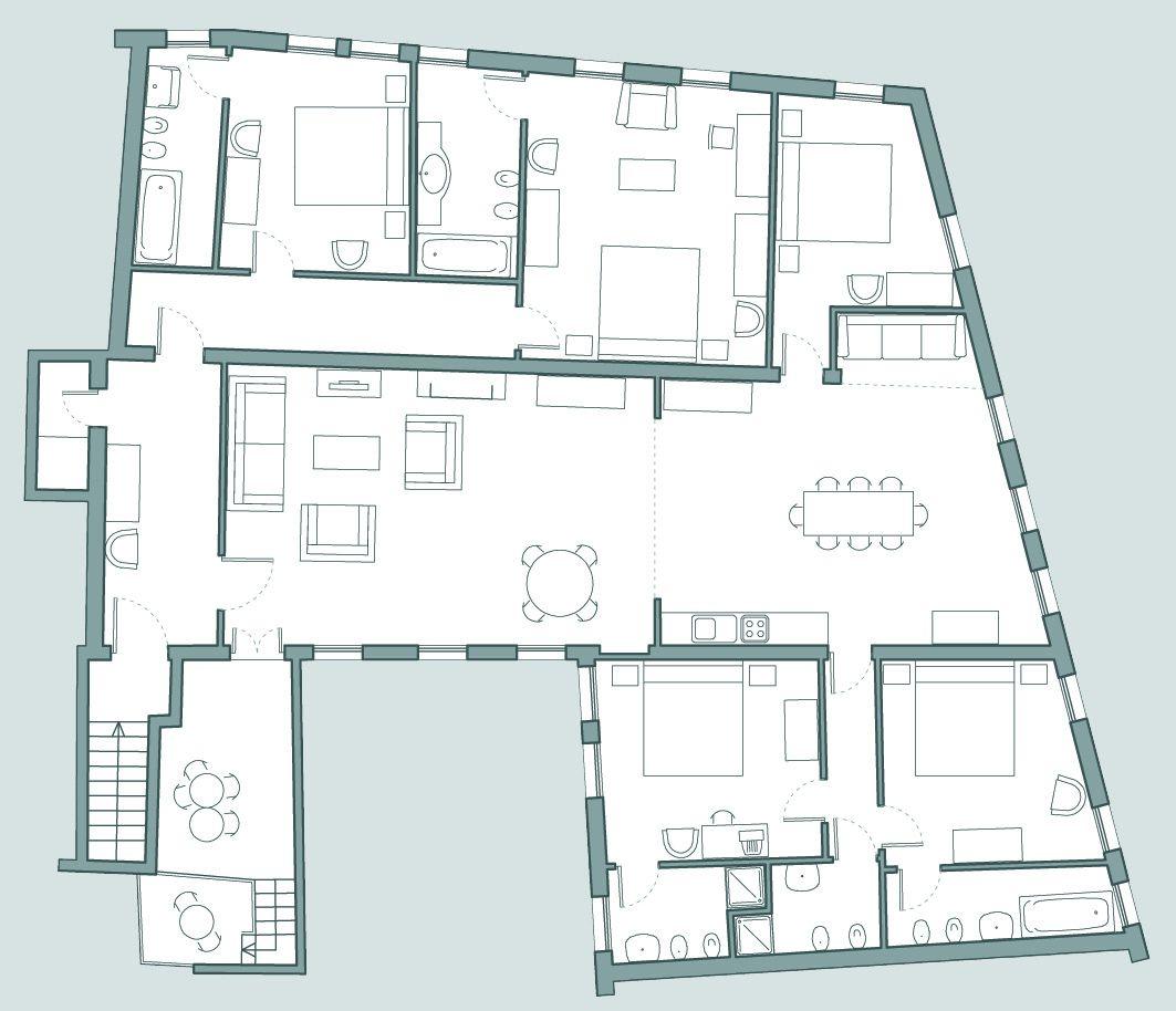 Bellini floor plan