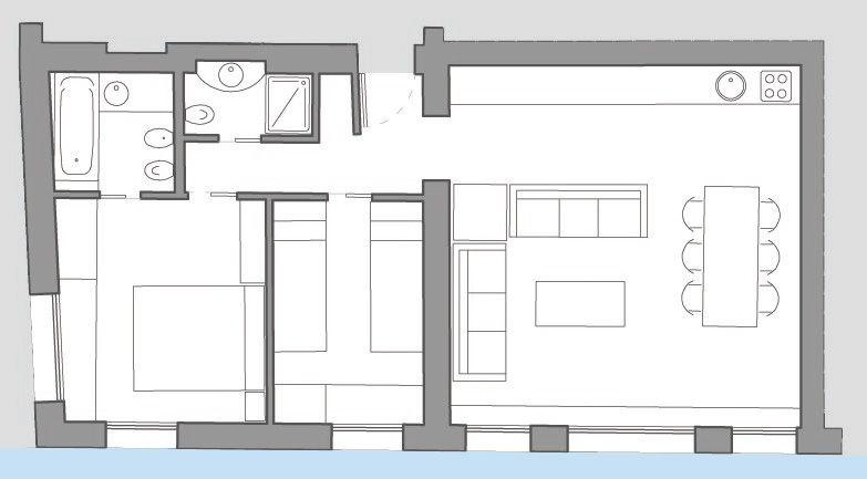 Fenice floor plan