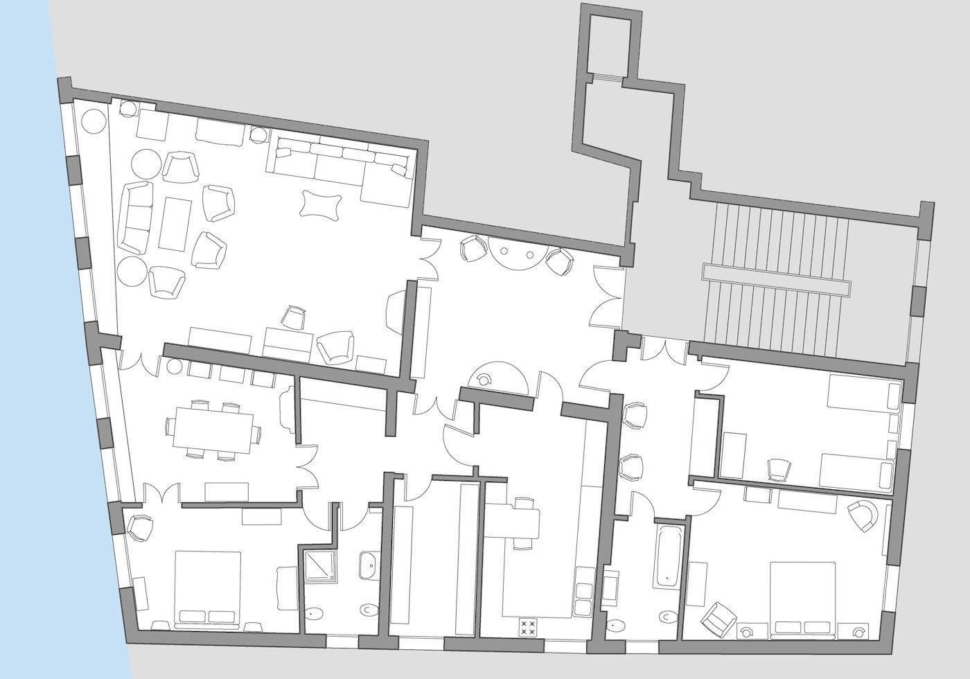 Grassi floor plan
