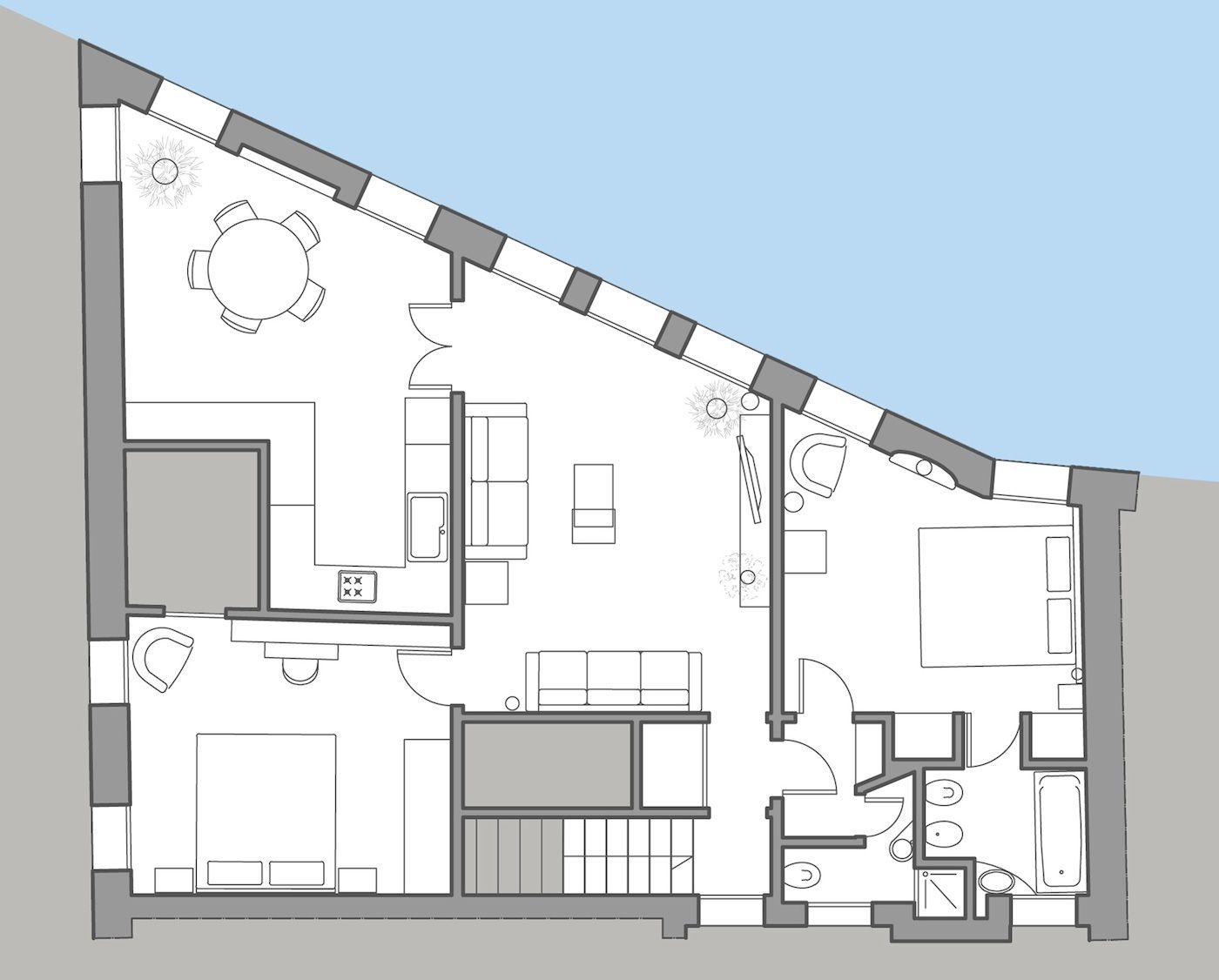 Grimani floor plan