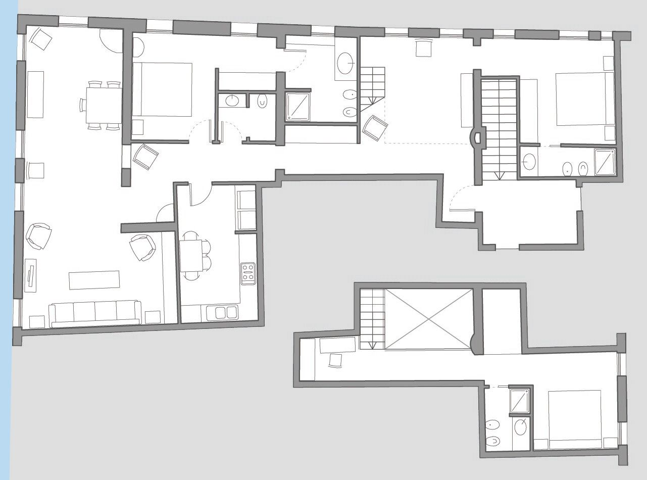 Rivo Alto floor plan