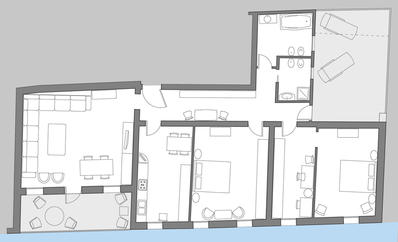 San Felice Terrace floor plan