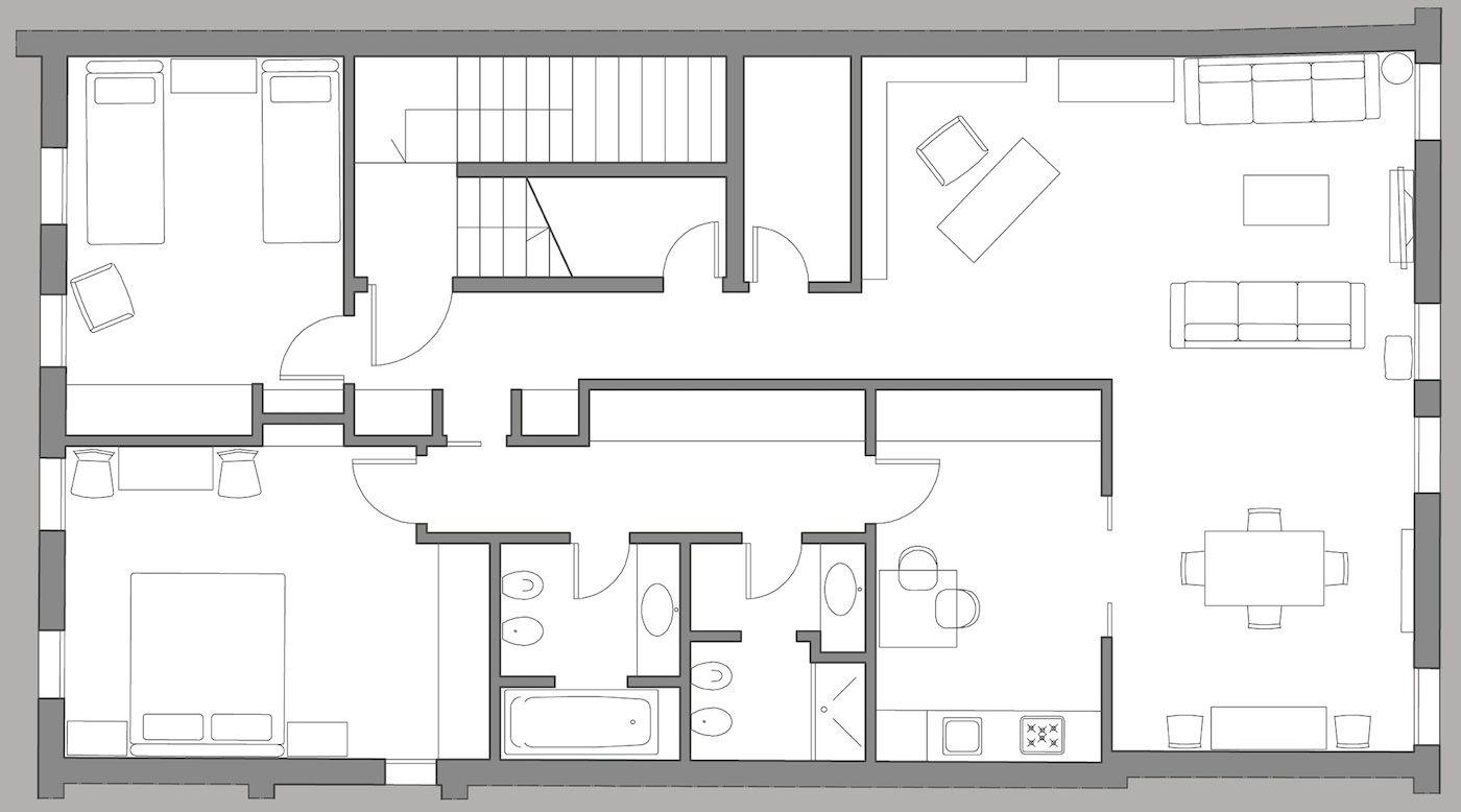 Venier floor plan