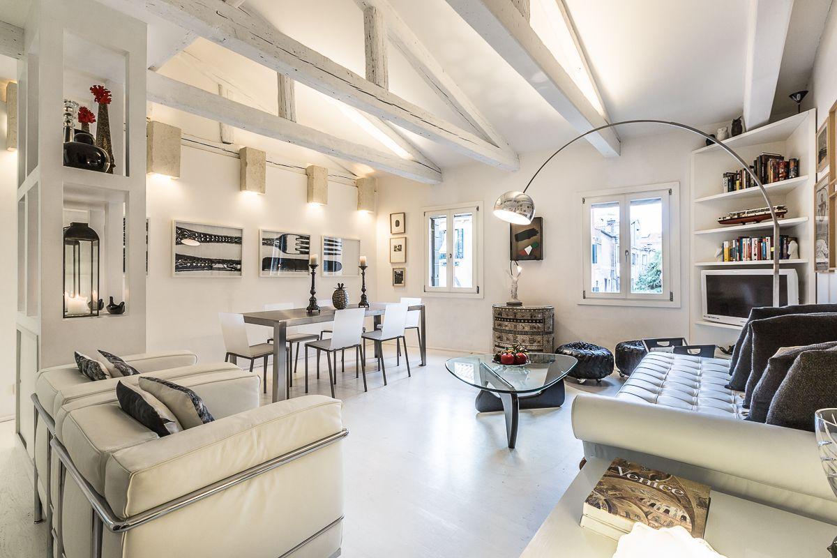 the glamorous Leonessa apartment living room