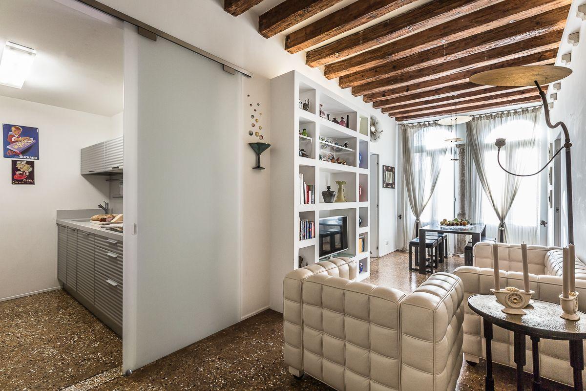 living room of the Leonina apartment