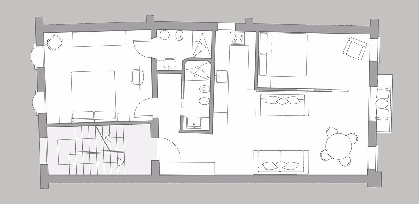 Manin floor plan