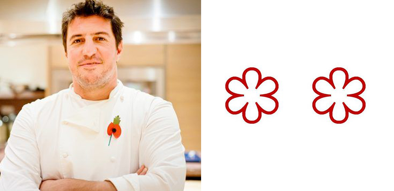 2 Michelin Star Chefs: Claude Bosi, chef proprietor, Claude Bosi at Bibendum