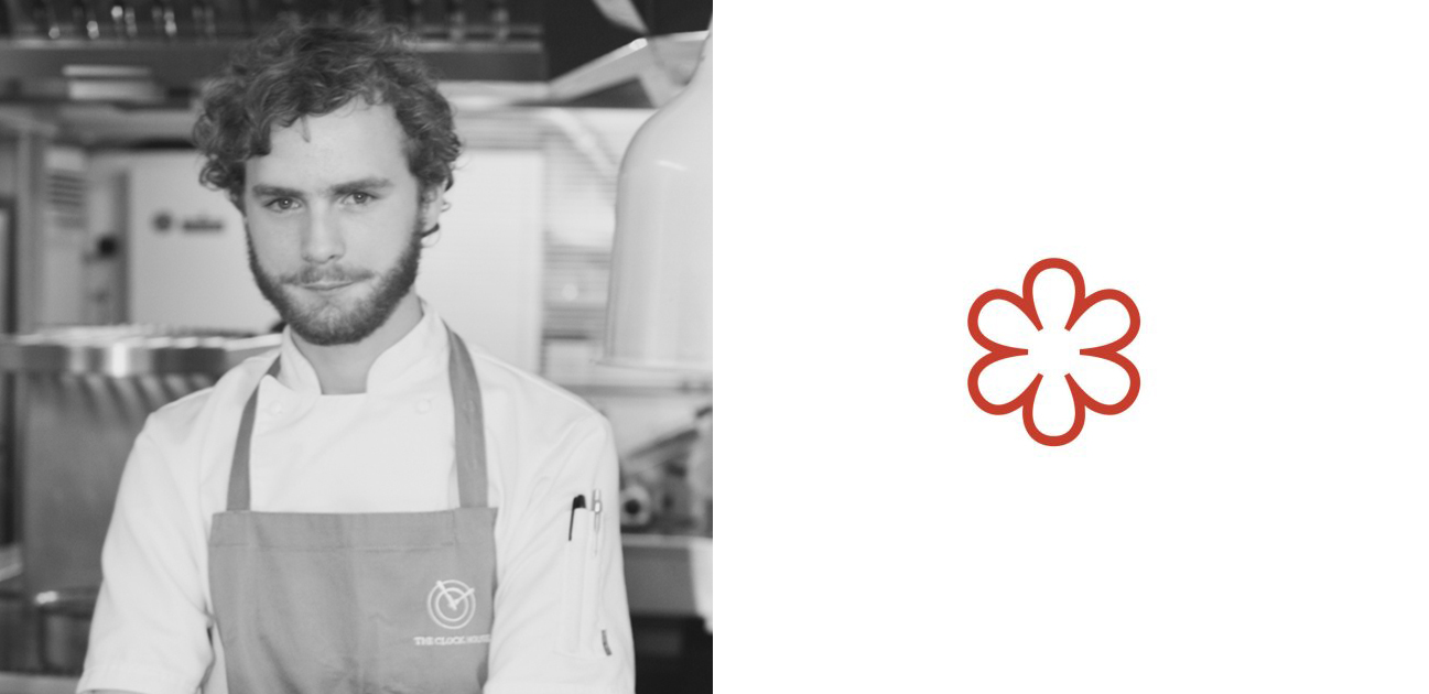 1 Michelin Star Chefs: Fred Clapperton, head chef, The Clock House