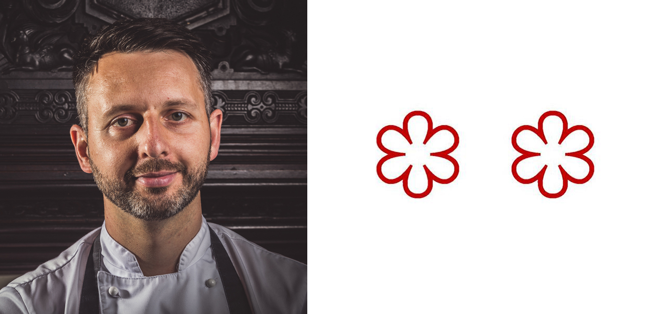 2 Michelin Star Chefs: Mark Birchall, Chef Patron, Moor Hall Restaurant with Rooms