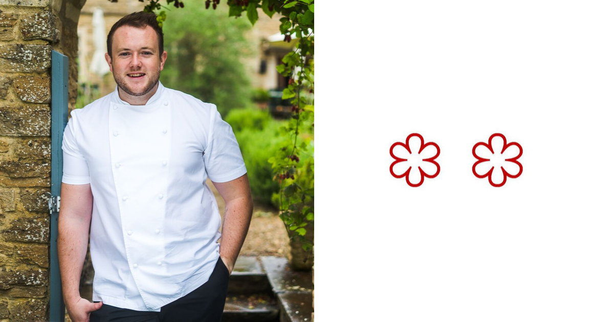 2 Michelin Star Chefs: Niall Keating, executive chef, The Dining Room at Whatley Manor
