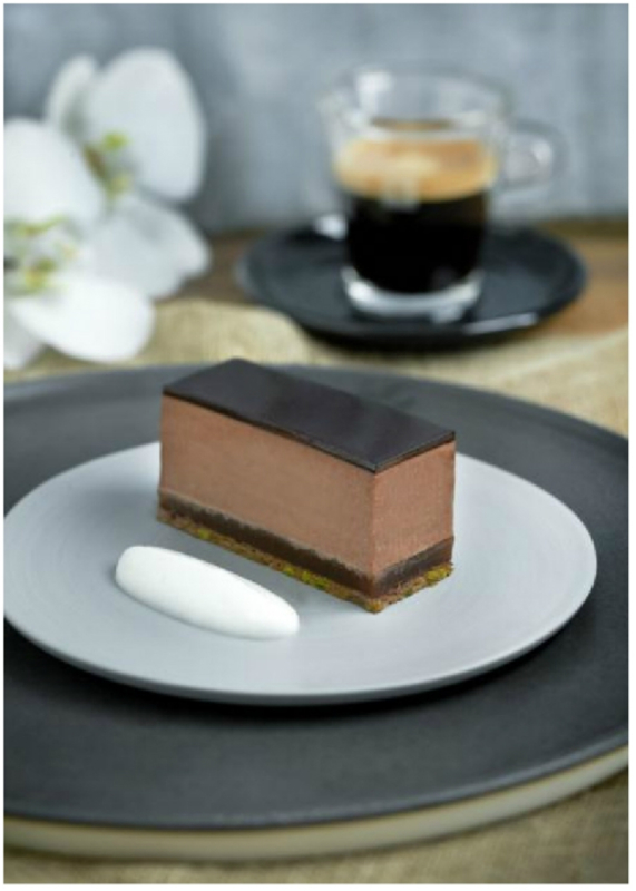 Pave Of Bitter Chocolate With Burnt Orange And Ristretto Coffee