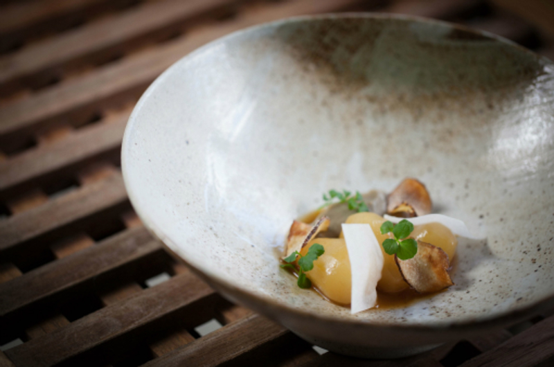 Malted Artichoke Kohlrabi Bittercress Paul Foster Photography By John Arandhara Blackwell