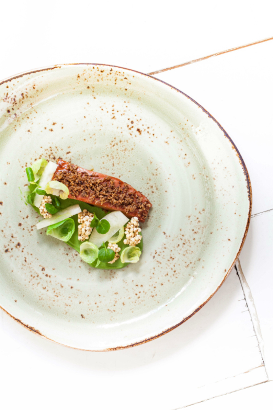 Poached Goosnargh Duck Brussels Sprouts Paul Foster Photography By John Arandhara Blackwell