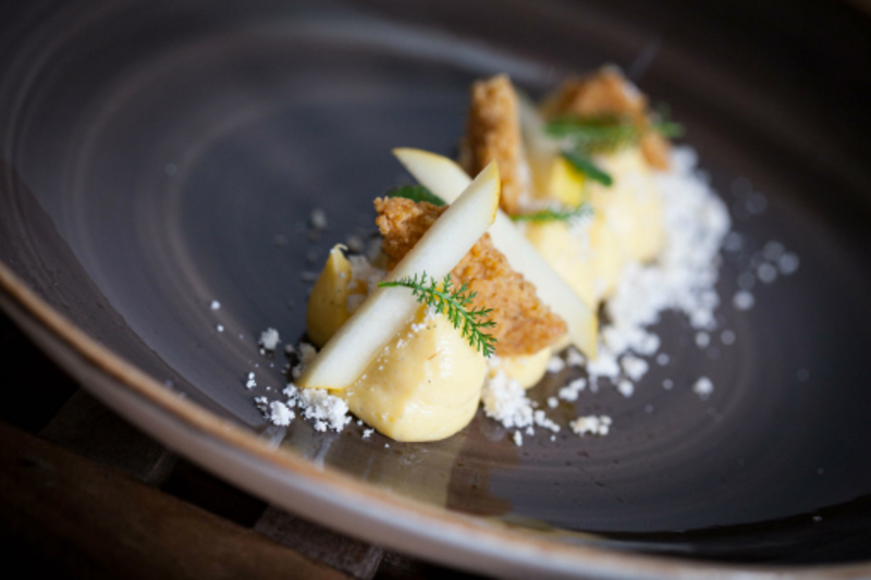Whipped Egg Custard Tart Brown Butter Pastry Paul Foster Photography By John Arandhara Blackwell