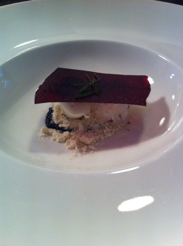 12th Course Bilberries Dried Caramel Natural Yogurt Ice Lemon Thyme 1