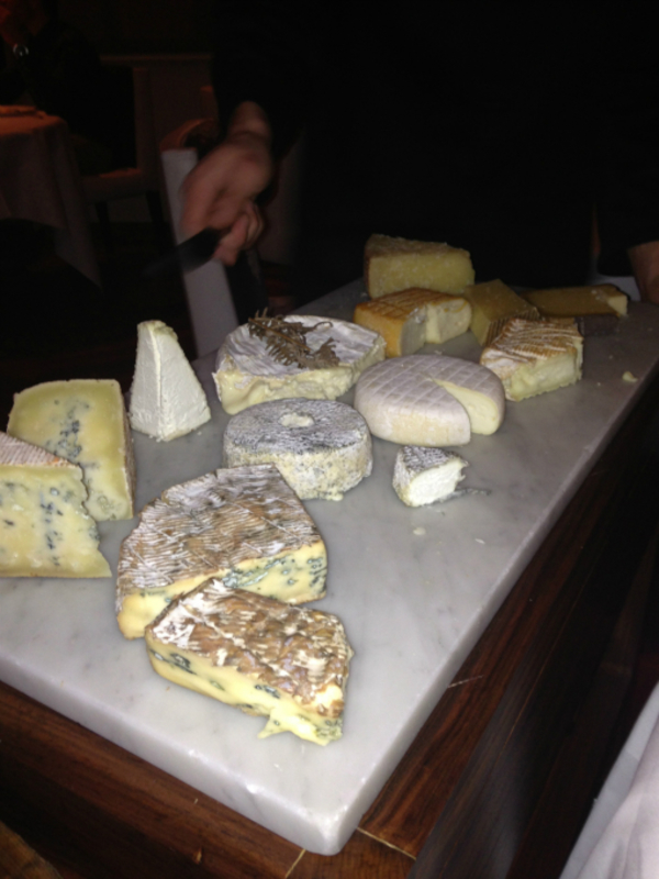 cheese table