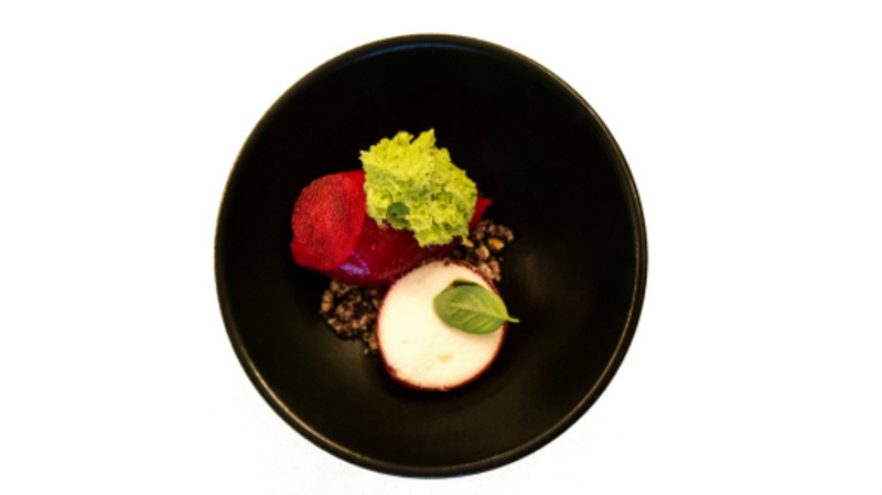 Beetroot - Basil - Lime - Black rice