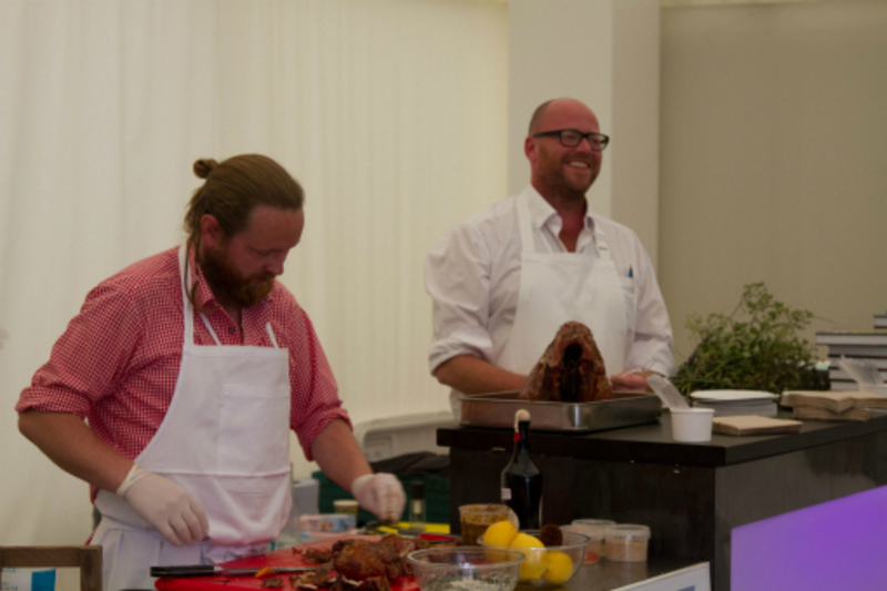 Universal cookery & food festival 2012