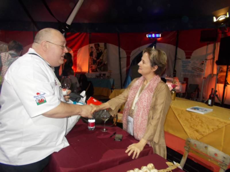 Alice Waters, Terra Madre, Italy 2012