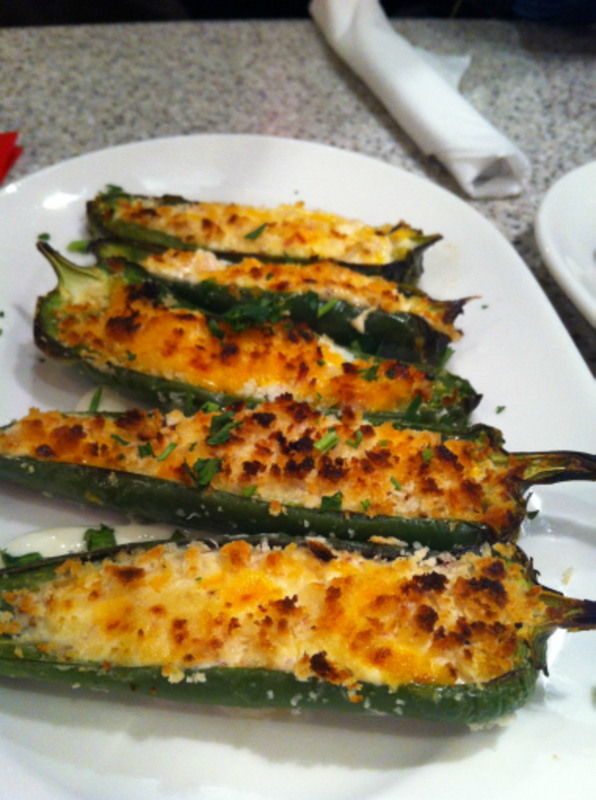 cheese and bacon stuffed jalapenos