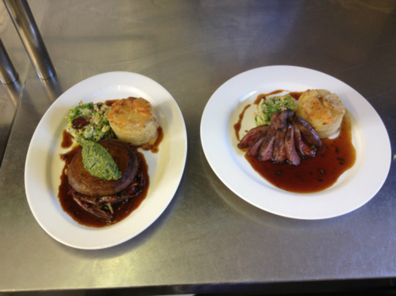 Beef Brisket and wild Duck