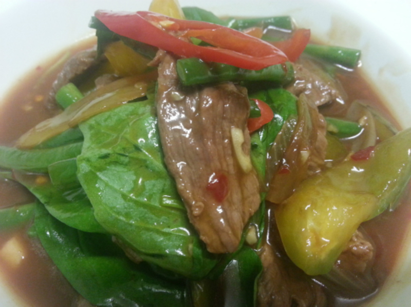 Chilli and Basil Beef