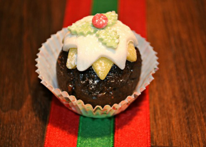 Christmas Pudding Canape