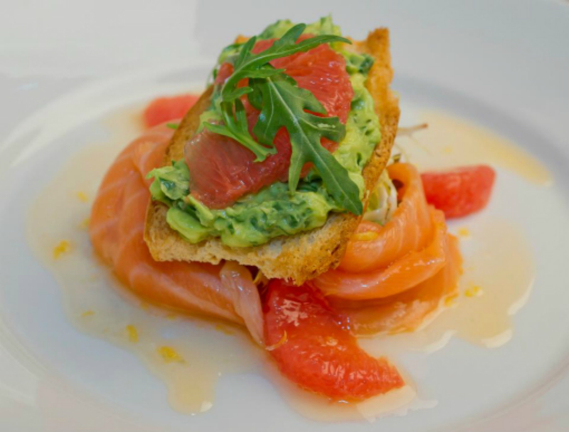 Smoked Salmon Avocado