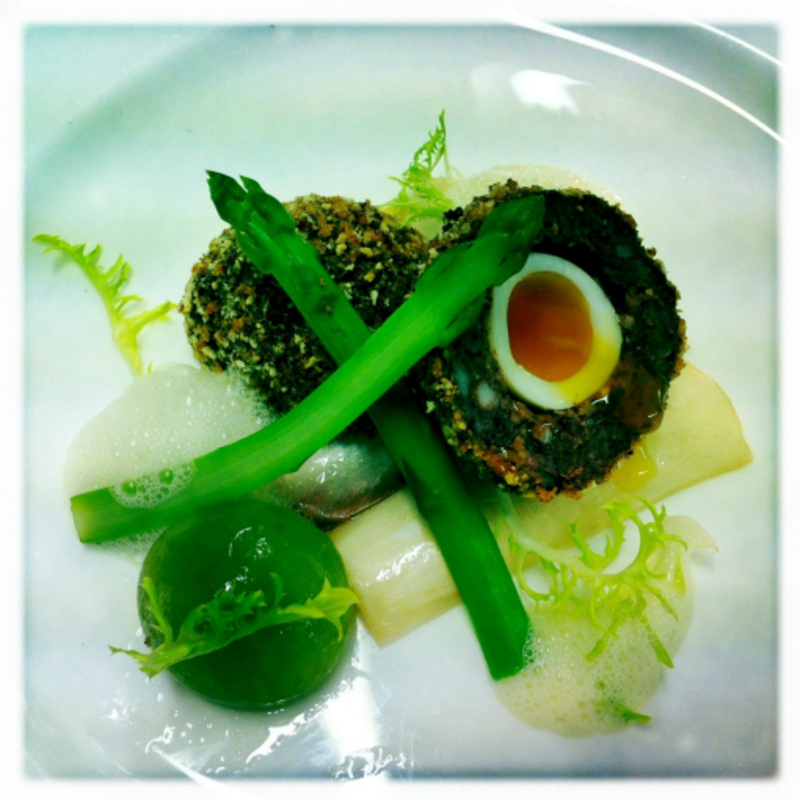 Black Pud Scotch Egg