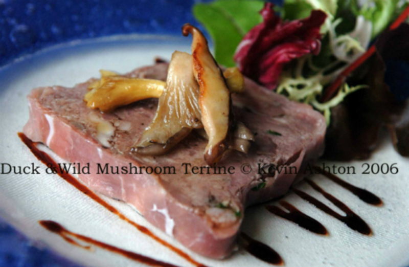 Duck and Wild Mushroom Terrine