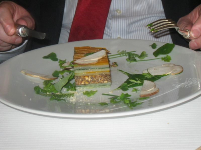 Millefeuille of vegetables