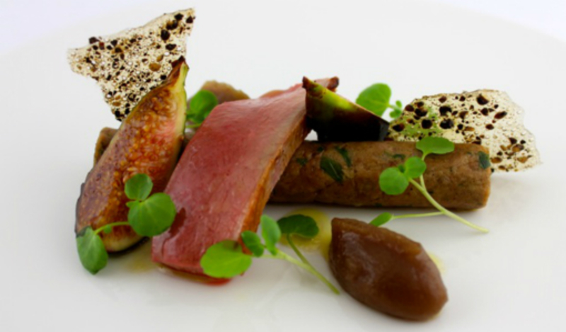 Rilette Of Duck And Roasted Breast With Turkish Fig And Black Pepper